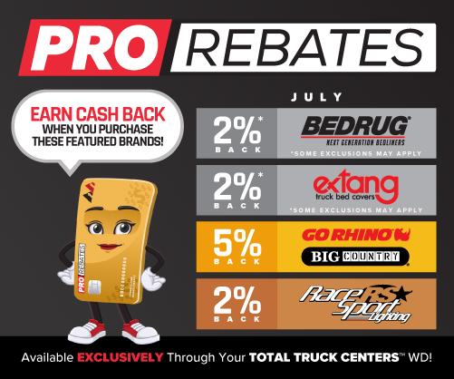 PRO Rebates™