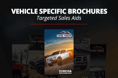Vehicle-Specific Brochures
