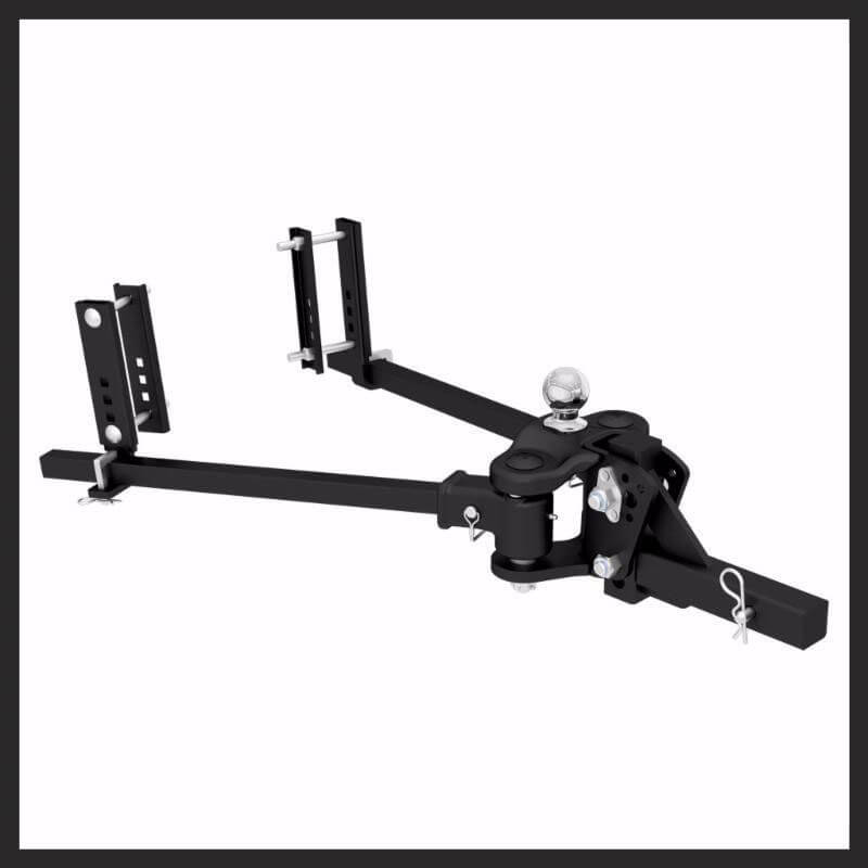 CURT's TruTrack™ Hitch Is One Heavy Hitter