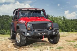 Rugged Ridge® (12034.01): Spartan Grille for 2007-2015 Jeep Wrangler JK