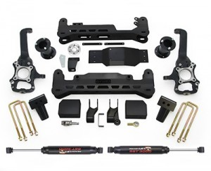 ReadyLIFT (44-2575-K): 2015 Ford F-150 7″ Off-Road Lift Kit System