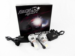Race Sport (9005-LED-G2-KIT): 9005 G2 5500K TRUE LED Headlight Kit