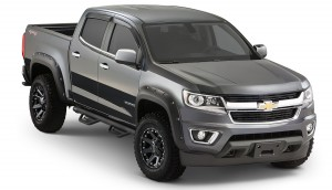 Bushwacker (40969-02): Pocket-Style Flares for 2015 Chevrolet Colorado 62.7″ Bed