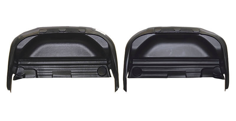 Rugged Liner (WWD09): Rear Wheel Well Liner for 09-16 Ram 1500/2500/3500