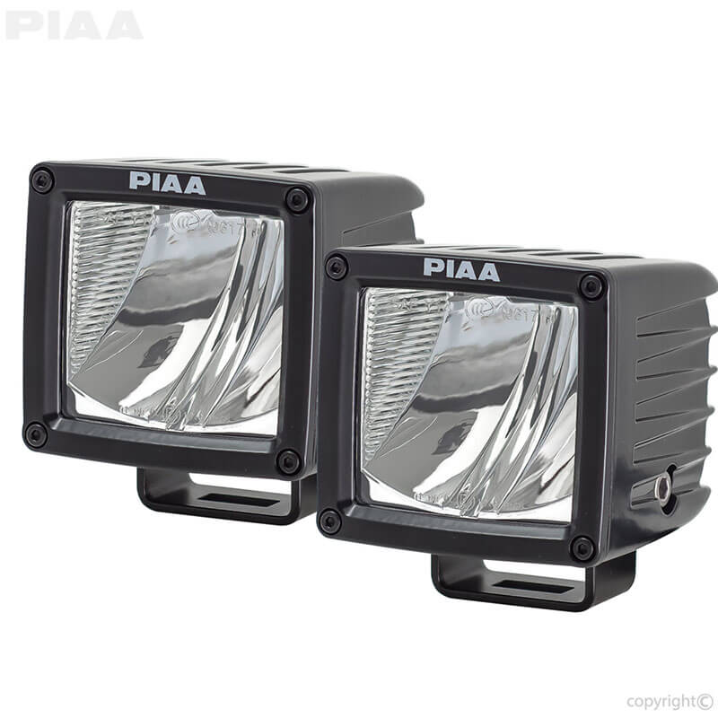 PIAA: RF3 Series LED Cubes - 07603 Driving