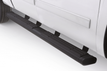 "LUND (22268740): 6"" Oval Nerf Bars – Straight Black for '16 Ford F-150"