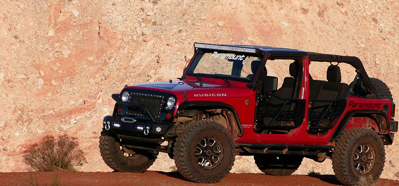 Paramount Shows Out at Moab Easter Jeep Safari & safari doors u2013 Total Truck Centers News