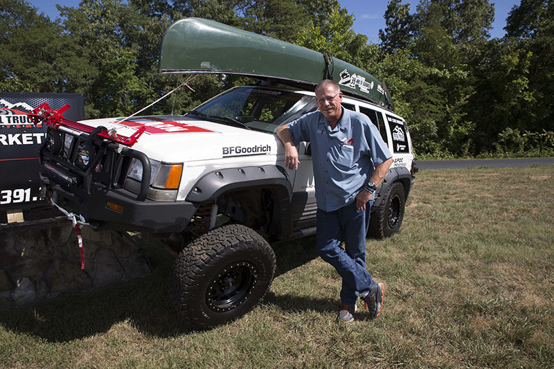 Greg Griffith prepped and ready to tackle 36 Hours of Uwharrie