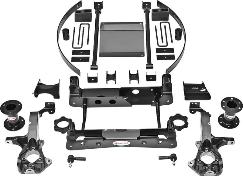 "Rancho (RS66301B): 6"" Suspension System for GM 4WD"