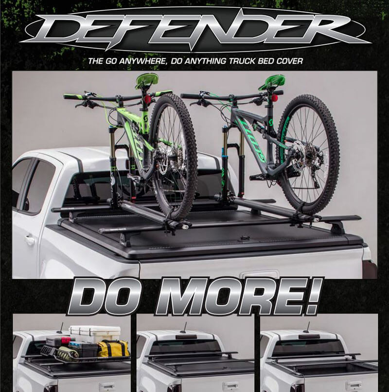 UnderCover: Defender Truck Bed Cover
