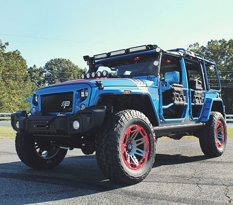 Omix-ADA Partners with Richard Petty's Garage to Build Charity Jeep for Auction