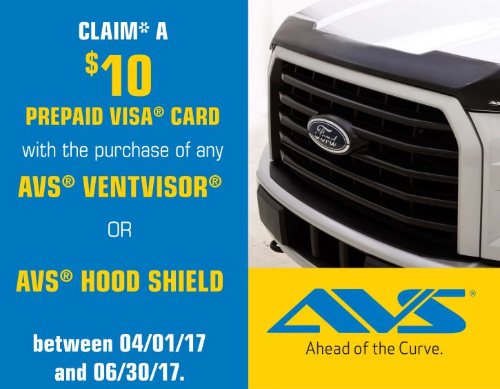 AVS 20 Card Ventvisor or Hood Shield