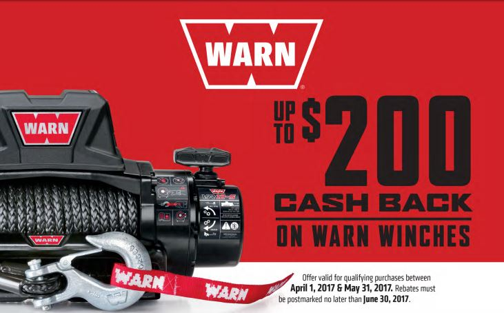 WARN 200 Dollar Winch Rebate_2