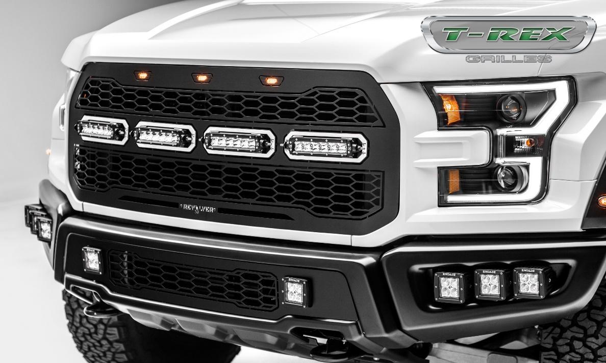 T rex grilles revolver series grilles for 2017 ford raptor
