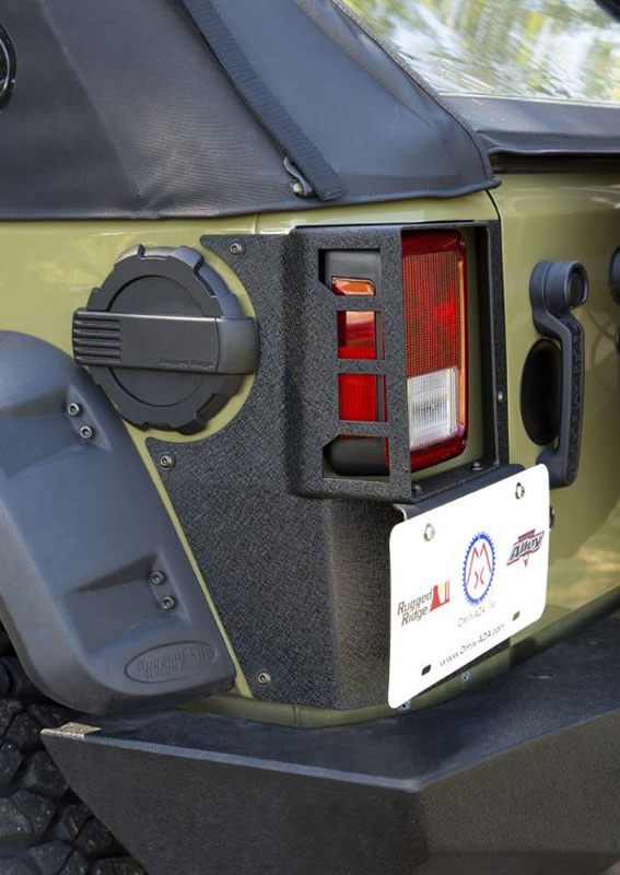 Rugged Ridge XHD Rear Corner Guard for Wrangler Unlimited