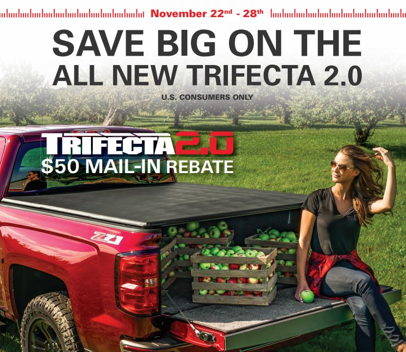Extang: $50 Rebate on Trifecta 2.0 Truck Bed Cover