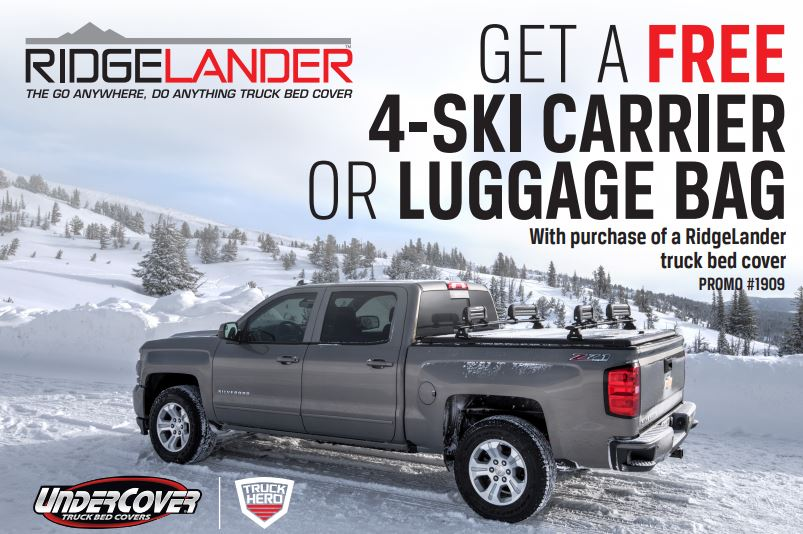 UnderCover Free Four Ski Carrier or Luggage Bag with RidgeLander Purchase