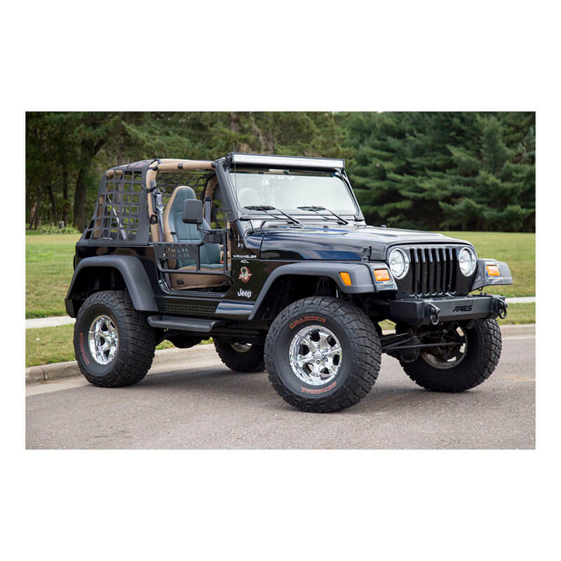 ARIES (1500100): Tube Doors For Jeep Wrangler TJ