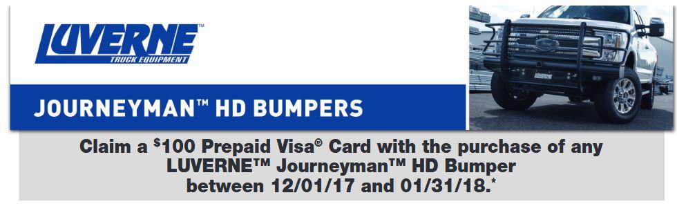 LUVERNE 100 Dollar Card on Journeyman HD Bumpers