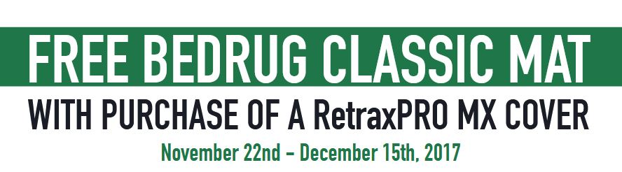 Retrax Free BedRug Classic Mat with RetraxPRO MX Purchase