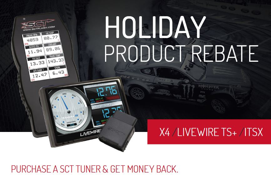 SCT: Get Up to $50 Back on Performance Tuners