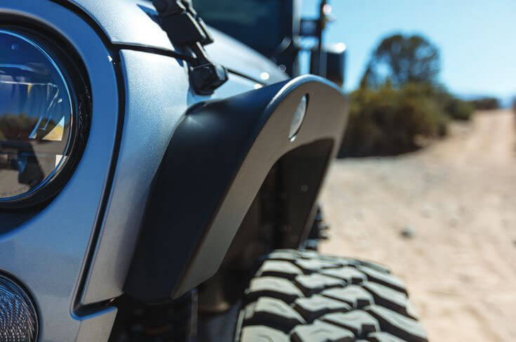 Go Rhino Trailline Fender Flares for Jeep Wrangler JK