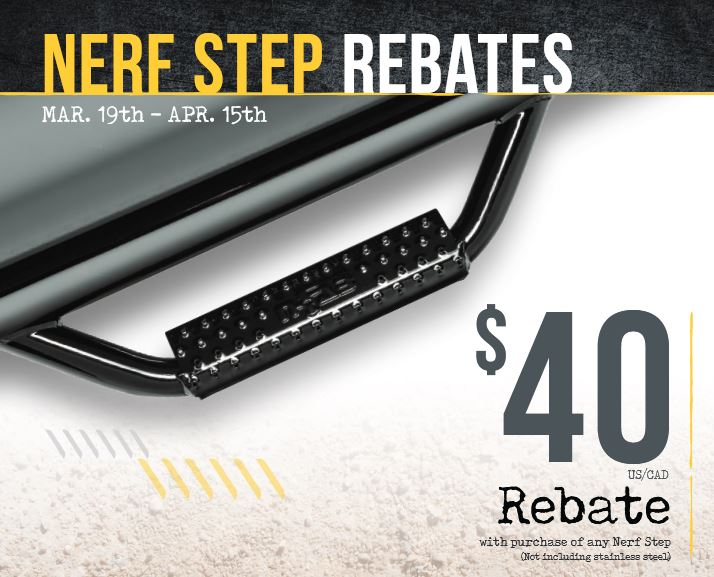 N-FAB: Get $40 Back on Nerf Steps (Non-Stainless)