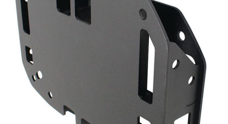 Go Rhino Rockline Spare Tire Relocation Kit for Wrangler JL