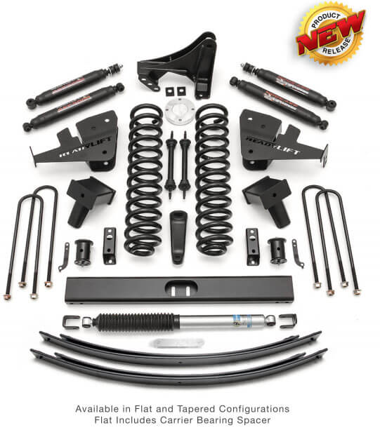 """ReadyLIFT: 8"""" Coil Spring Lift Kits for '17-'18 Ford Super Duty"""
