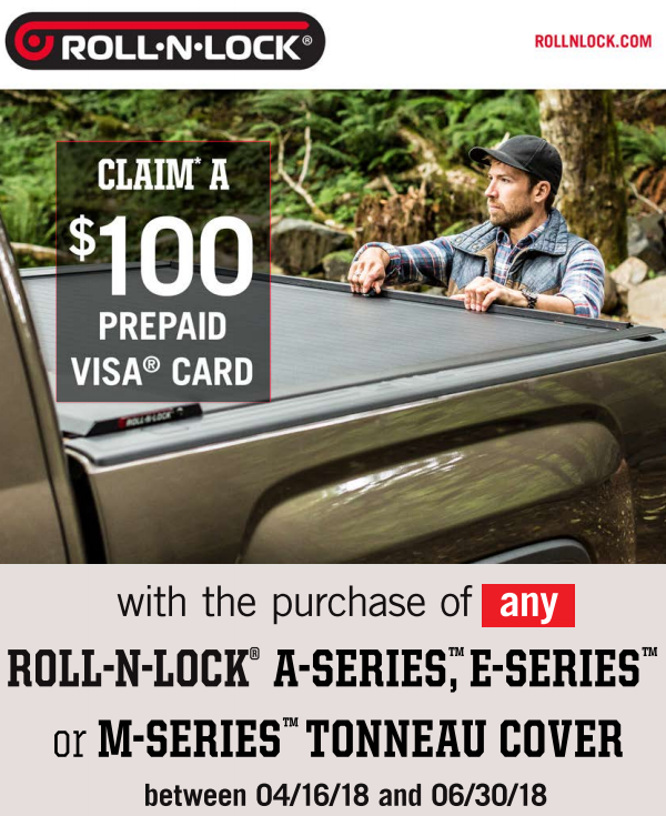 Roll-N-Lock 100 Card on Select Tonneau Covers