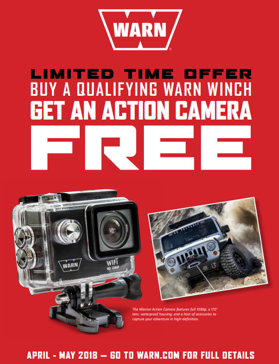 WARN Action Camera Promotion