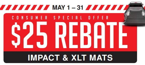BedRug 25 Off Impact and XLT Mats