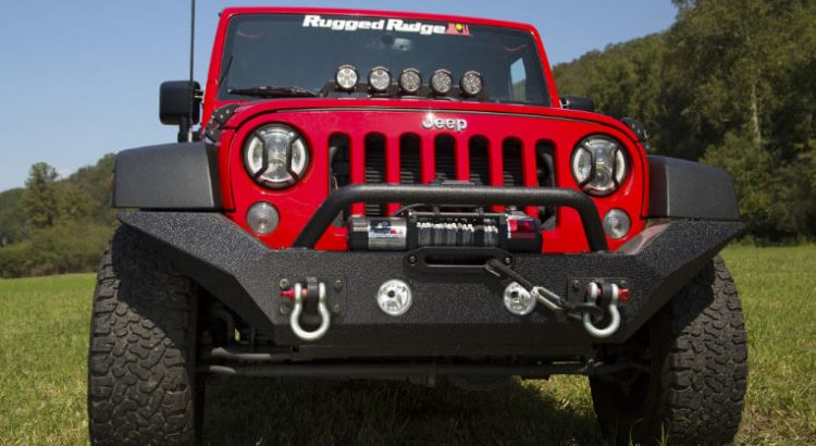 Rugged Ridge Spartan Grille for Jeep JK