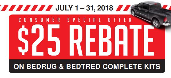 BedRug 25 Back on BedRug and BedTred Complete Kits