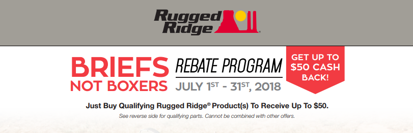 Rugged Ridge 50 Back on Jeep Tops