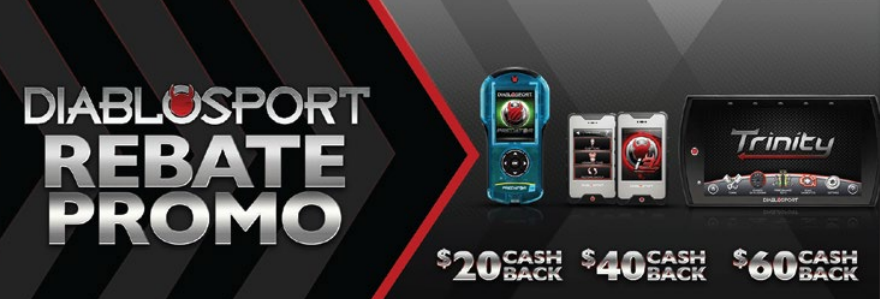 DiabloSport Get Up to 60 Back on Select Tuners