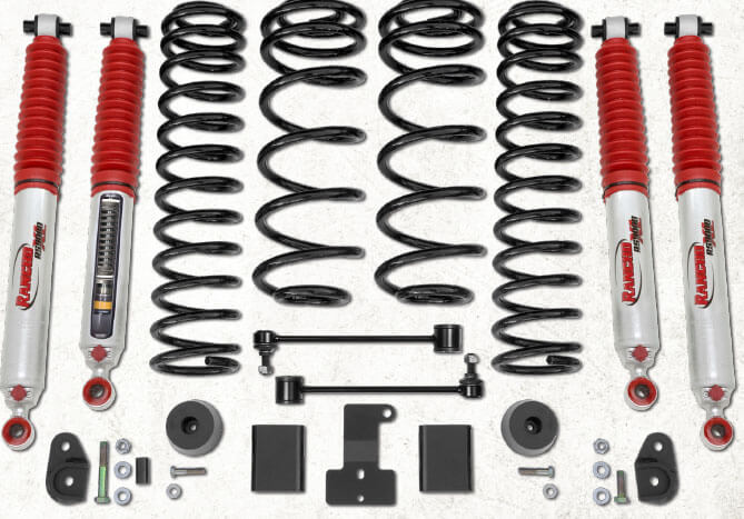 Rancho 2 Inch Sport Suspension System for 2018 Jeep Wrangler JL Unlimited Rubicon