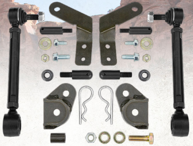 Rancho Front Sway Bar Disconnect for Jeep Wrangler JL Non Rubicon RS62126B