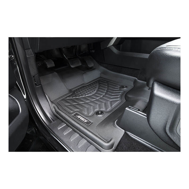 ARIES (2808509): StyleGuard XD Floor Liners for 2018 Jeep Wrangler JL