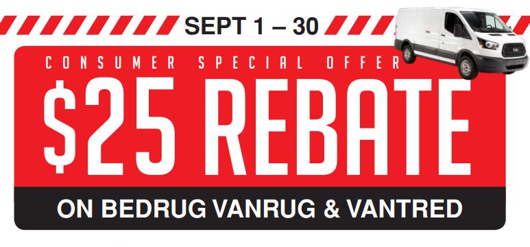 BedRug 25 Back on VanRug and VanTred
