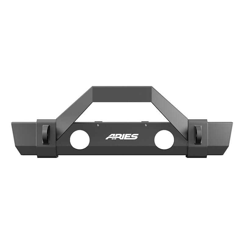 ARIES TrailCrusher Front Bumper with Trail Guard for Jeep JL