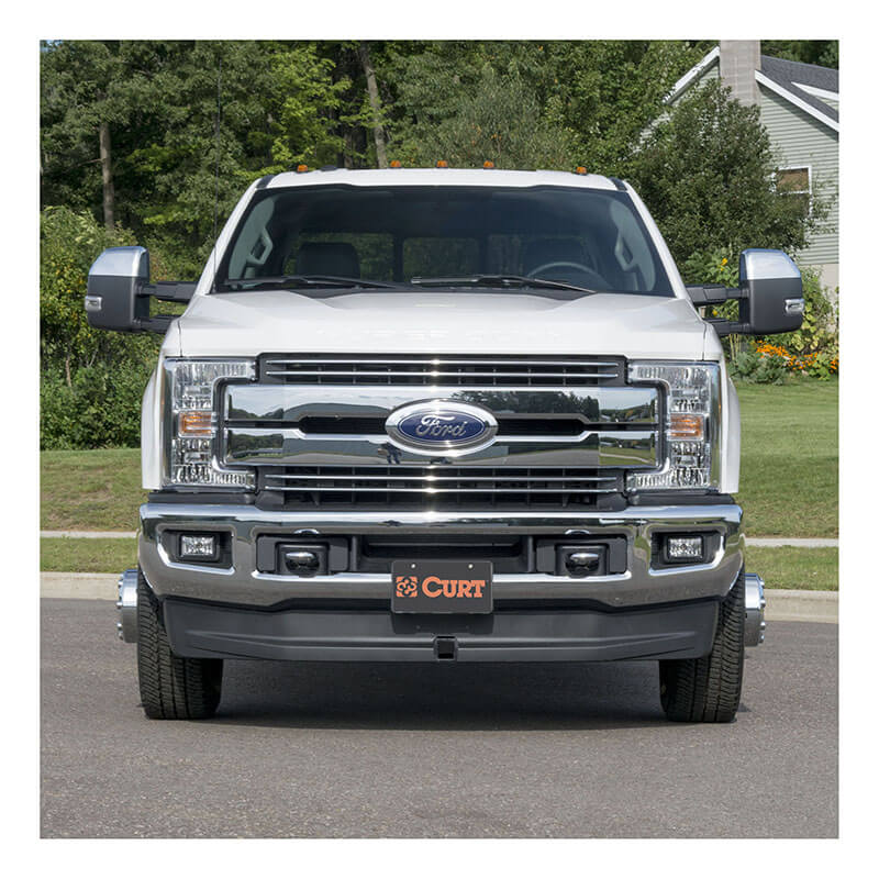 CURT Front Mount Hitch with 2 Inch Receiver for 17-19 Ford Super Duty