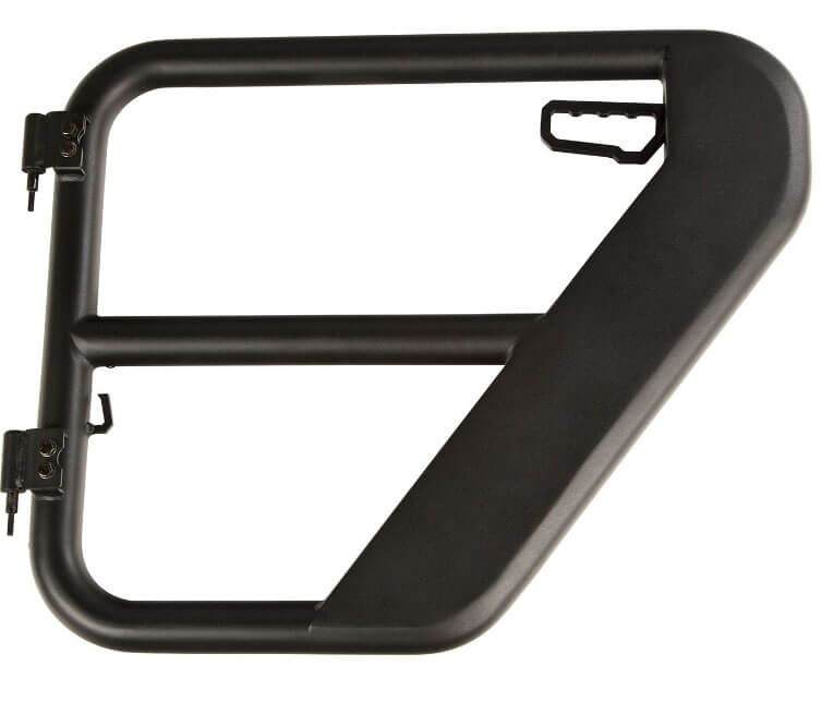 Rugged Ridge Textured Black Rear Tube Door for Jeep Wrangler JL 11509.14