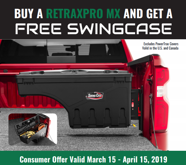 Retrax Free SwingCase with RetraxPRO MX Purchase