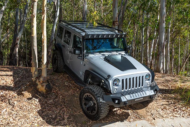 Go Rhino Overland Roof Rack for Jeep Wrangler JKU