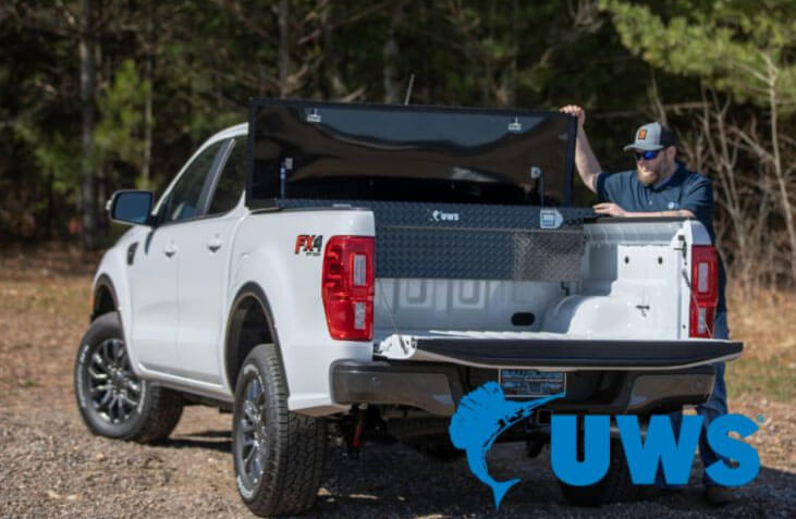 UWS Toolboxes for 2019 Ford Ranger