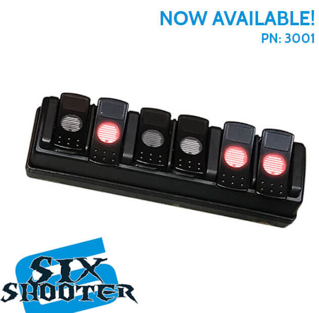 Advanced Accessory Concept Six Shooter Wireless Accessory Controller 3001