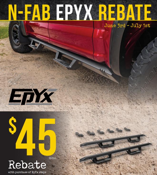 N-FAB: Get $45 Back on EpYx Side Steps