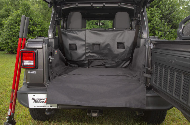 Rugged Ridge C3 Cargo Cover for Jeep JLU 13260.13