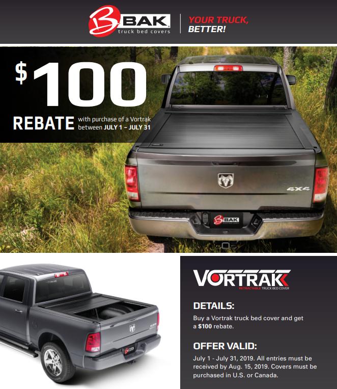 BAK Industries $100 on Vortrak